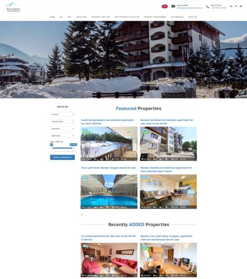 Bulgarian Ski Properties